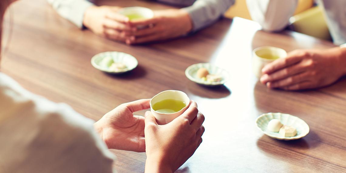 お茶のある「ゆるやかな時間」ラボ テーマ