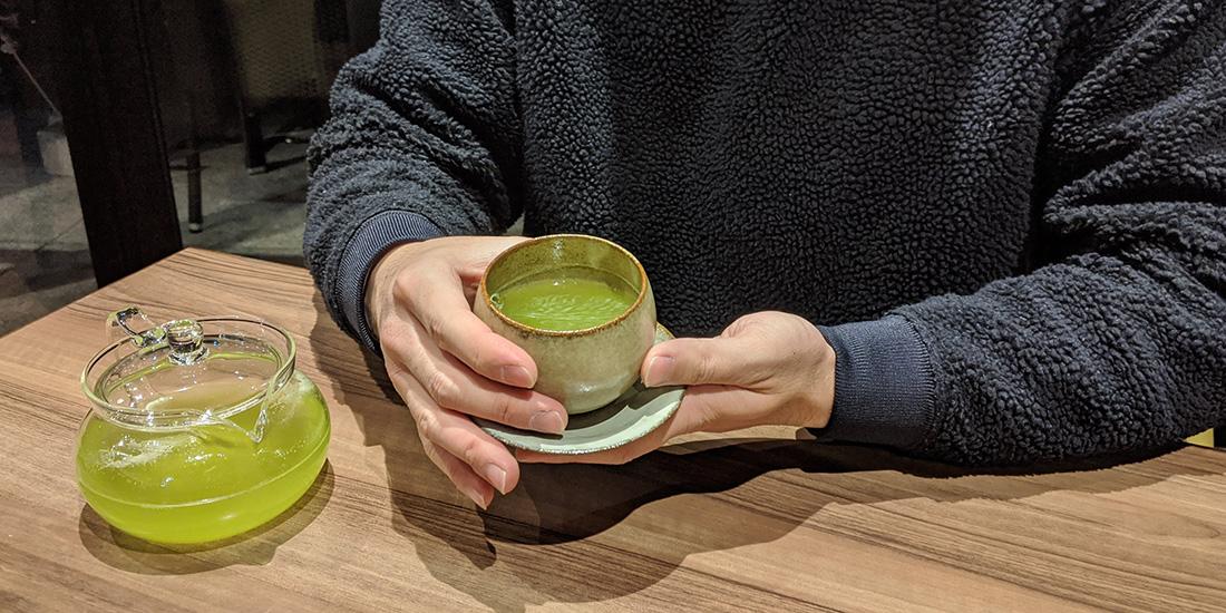 【BLOG】緑茶で肥満対策