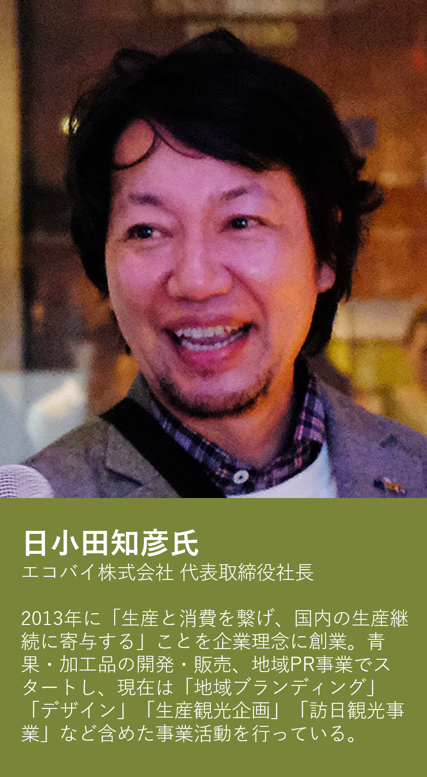 日小田知彦氏(エコバイ株式会社-代表取締役社長)