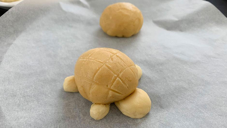 馬場フラットのかわいい冷凍手作りパン