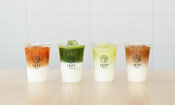 日本茶ラテ4種